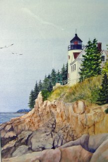 Maine light house
