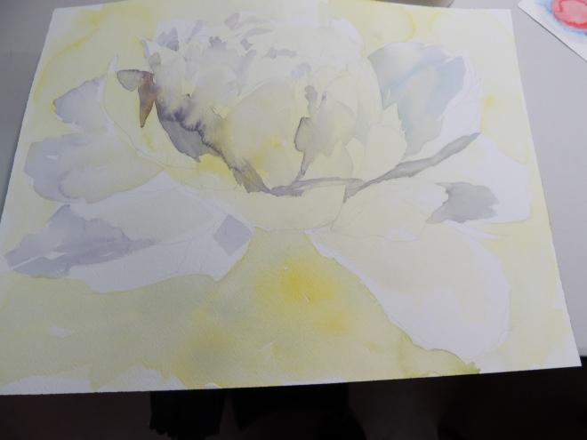 white flower 015