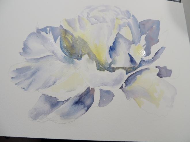white flower 018