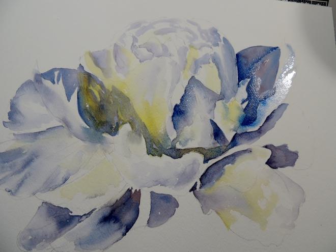 white flower 019