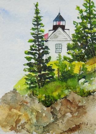 Day 12 Bass Harbor light house