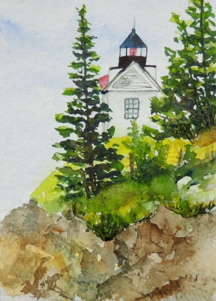 Day 12 Bass Harbor light house
