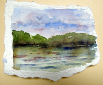 Day22 Water way scenery