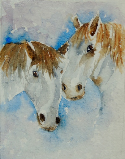 Day 27 White horses